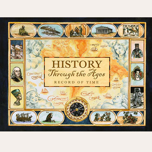 """Mystery Of History Timeline: """"Record Of Time"""" Timeline Notebook"""