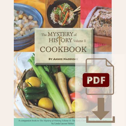 They Mystery of History Volume II Cookbook