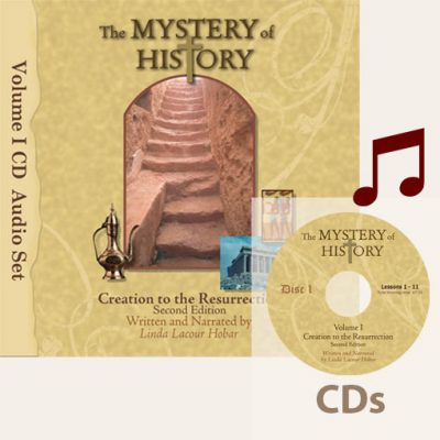 product image of Volume I 2nd Edition Audiobook CDs with music