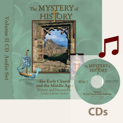 product image of Volume II Audiobook CDs with music