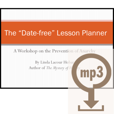 The Mystery of History Date-free Lesson Planner MP3 Workshop