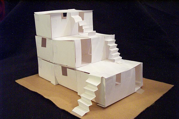 Build a Paper Pueblo House