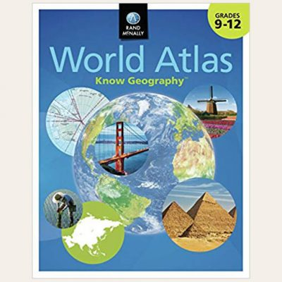 image: Grand Mcnally World Atlas Know Geography