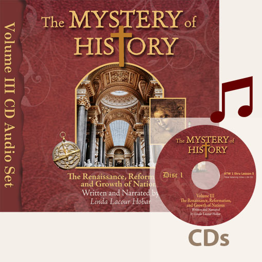 product image of Volume III Audiobook CDs with music