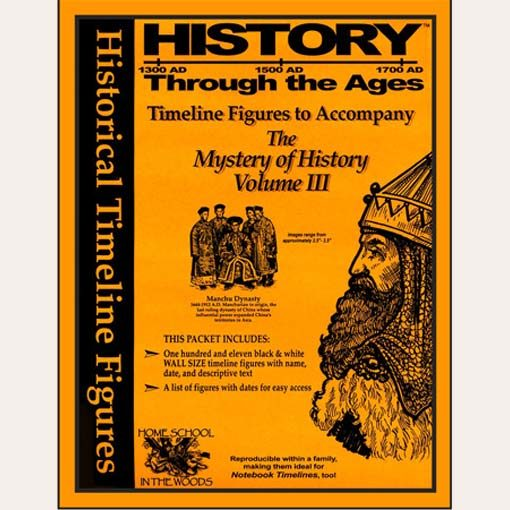 """Mystery Of History Timeline: History Through The Ages Timeline Figures """"for Volume III"""