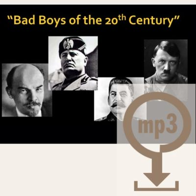 Bad Boys of the 20th Century Workshop