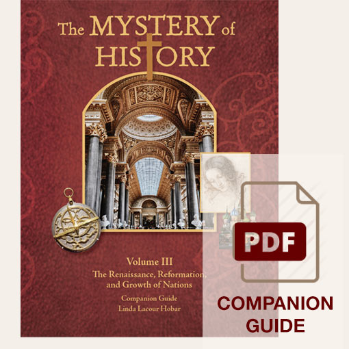 image: The Mystery of History Volume III Companion Guide - PDF Download