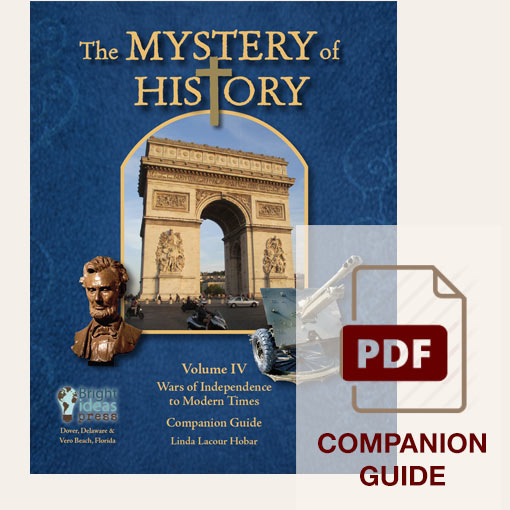 image: The Mystery of History Volume IV Companion Guide - PDF Download