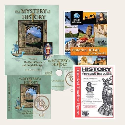 The Mystery of History Volume II Bundle
