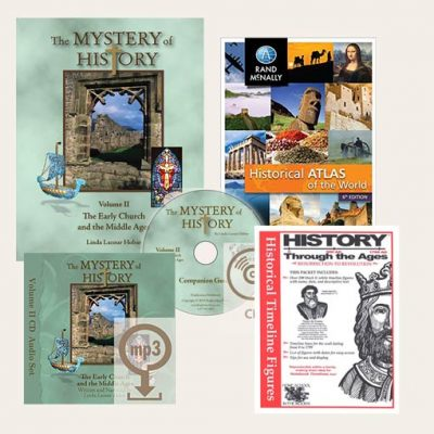 image: The Mystery of History Curriculum Bundle with MP3 Only