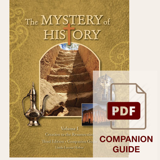 image: The Mystery of History Volume I Third Edition Companion Guide - PDF Download