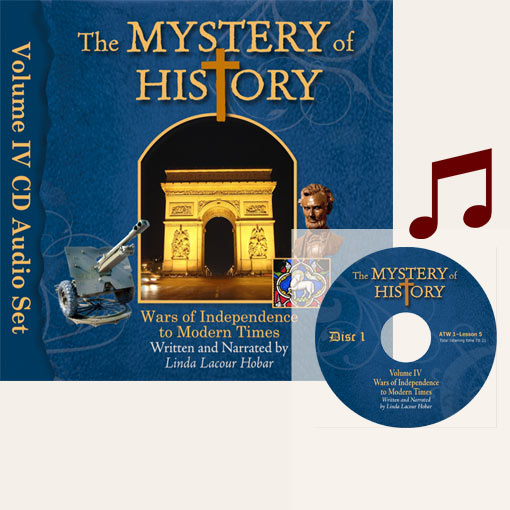 product image of Volume IV Audiobook CDs with music