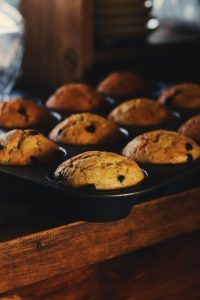 Muffins on a good homeschool day
