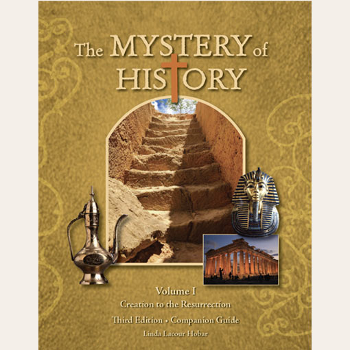 The Mystery of History Volume I Third Edition Companion Guide in Paperback