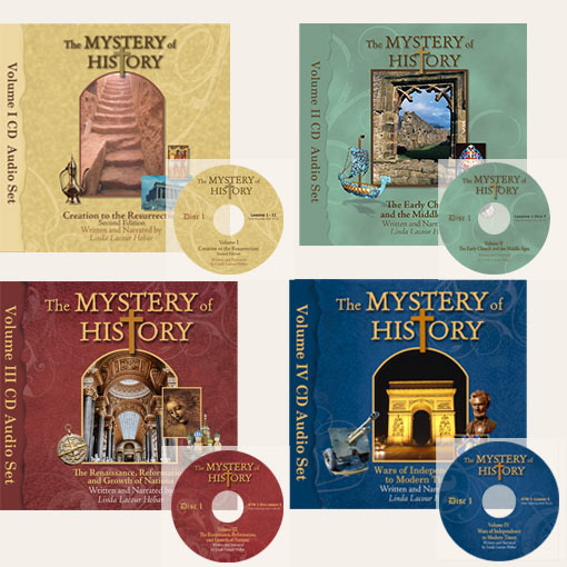 product image of The Mystery of History Volume I through Volume IV Audiobooks