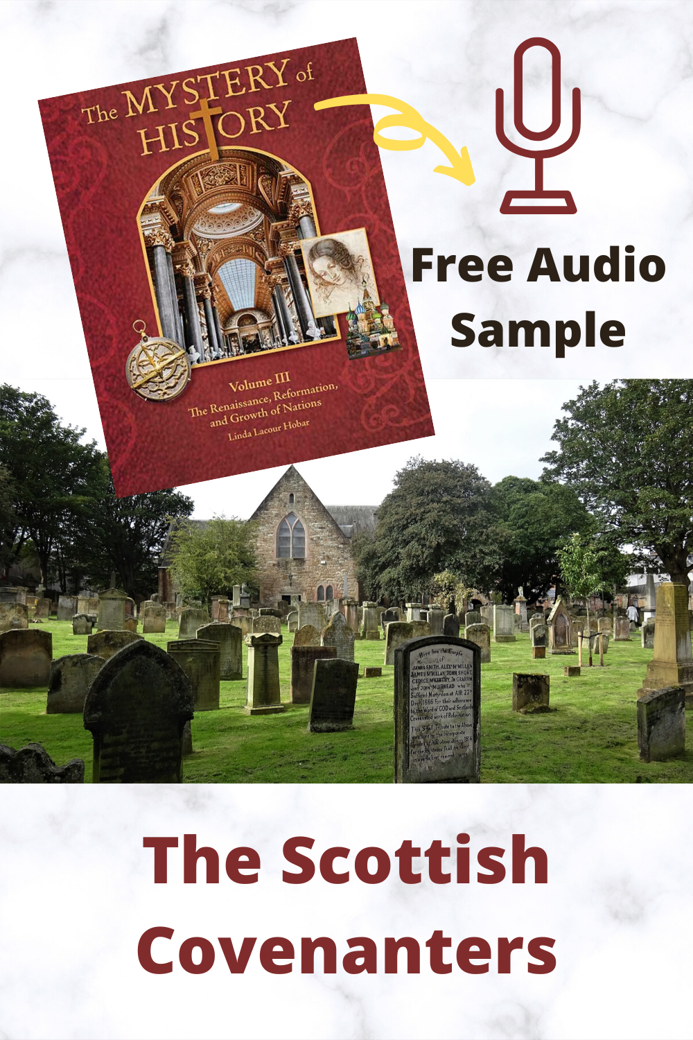 Download a free sample of the audio narrative of The Scottish Covenanters from The Mystery Of History Volume III