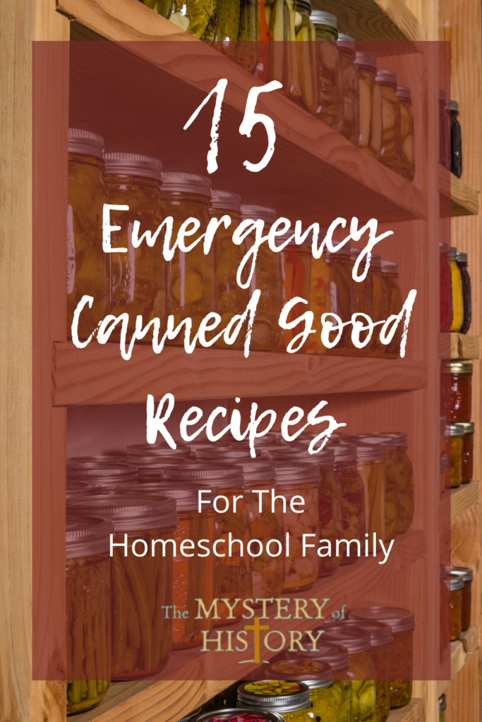 Linda Lacour Hobar shares 15 Emergency Canned Good Meals with printables!