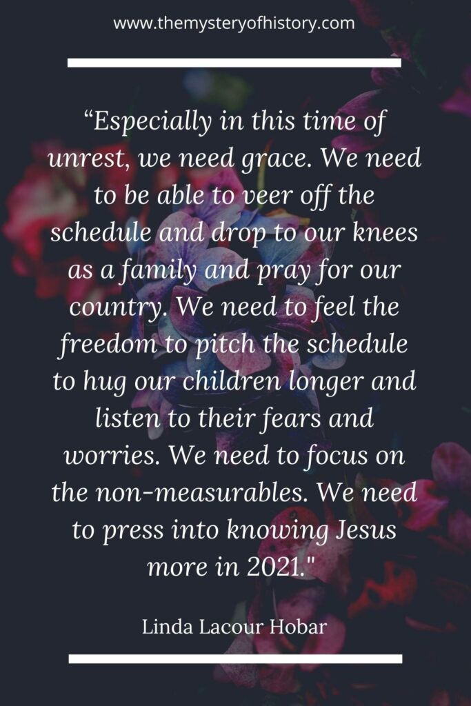 Today Linda Lacour Hobar shares her heart about setting goals for 2021. It's time for grace and focusing on the immeasurable rather than the measurable. So breathe a sigh of freedom and grace and read on...(free printable at the bottom.)