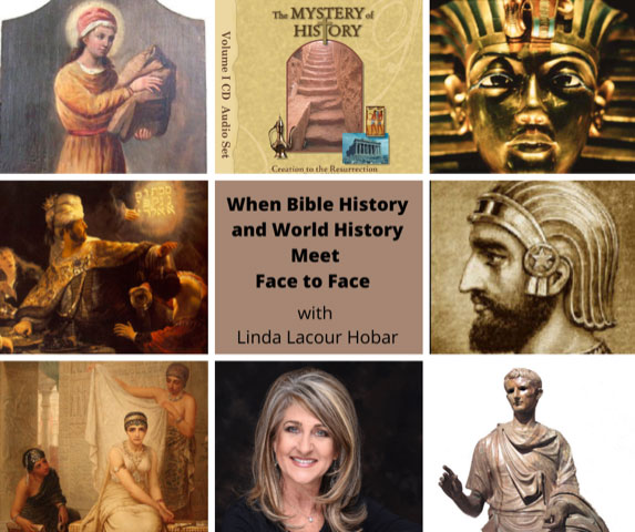 When Bible History and World History Meet Face to Face collage