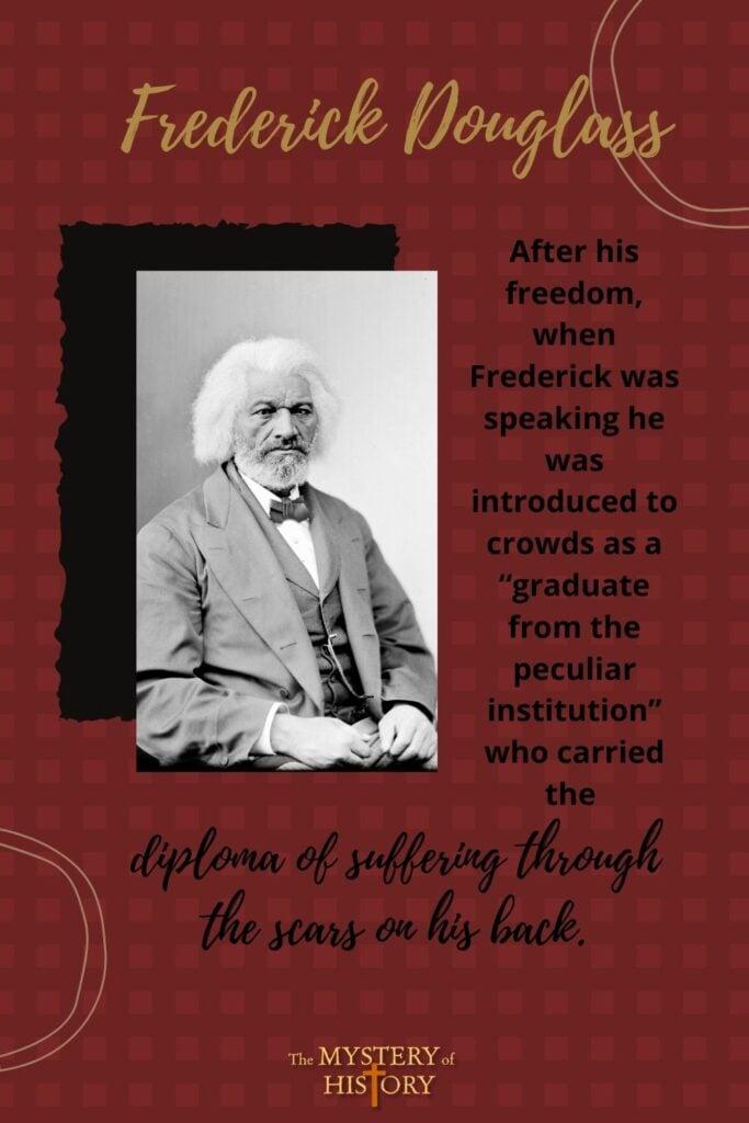 The extraordinary story of Frederick Douglass