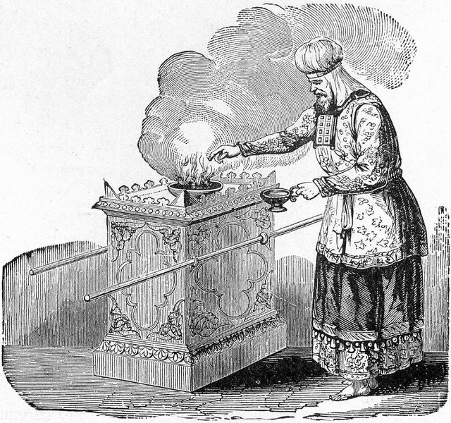 High Priest Offering Incense.