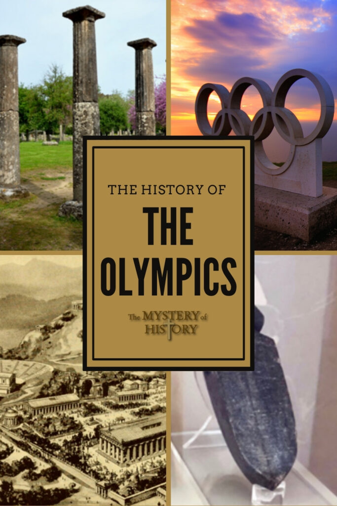 It's the Summer Olympics 2021! Do you like to watch the Olympics? I LOVE watching gymnastics (and in the winter I love the ice skating.) Most people have their own favorites. It's so much fun, but do you know the history of the olympics? Well, believe it or not, the very first recorded Olympics date as far back as 776 b.c.! The Greeks started the competitive events that are still enjoyed so much today.