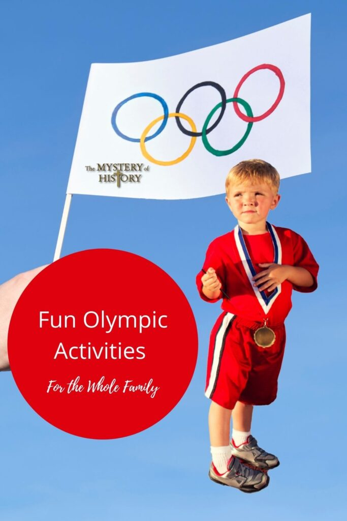 Enjoy these fun, family activities and learn about the history of the Olympics over at The Mystery of History!